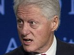 'You want one too?' Bill Clinton pointed to his $550 Shinola watch on Wednesday after a panel discussion with Chipotle Mexican Grill Co-CEO Monty Moran