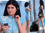 Strike a pose! Kendall and Kylie Jenner turn a sunset in New York into an impromptu photo shoot