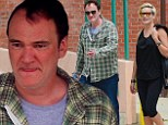 Where¿s Uma? Quentin Tarantino steps out with a mystery blonde amid reports he is dating Thurman