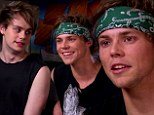 Boy band 5 Seconds of Summer reveal he bizarre requests of much older female fans including signing boobs