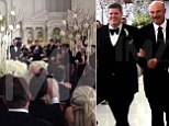 Dr Phil walks his celebrity-artist friend down the aisle at lavish same-sex wedding ceremony