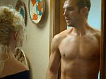 They'll be Crawley all over him: Dan Steven tones up and shows off his chest in new thriller The Guest