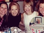 'I sang Will You Still Love Me Tomorrow and apparently he does!' Katie Couric offers an inside glimpse at her karaoke-filled bachelorette party