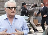 Ready, set, fight! Martin Scorsese calls action as he films violent scene for new HBO series