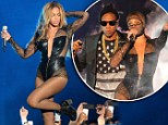And they're off! On Wednesday, Beyonce and husband Jay Z kicked off their joint world tour On The Run in spectacular style as they played Sun Life Stadium in Miami, Florida
