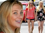 Stephanie Pratt (left) and sister-in-law Heidi Montag have fun day out in LA -- just the girls!