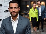 Cara Santana turns heads in fluorescent yellow jacket while cosying up to boyfriend Jesse Metcalfe at opening of Prezzo's 200th restaurant