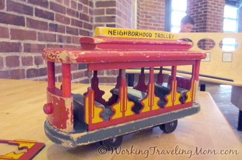 Fred Rogers trolley Childrens Museum of Pittsburgh