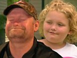Stress relief: Sugar Bear took the family to the track to relieve his stress on Thursday's episode of Here Comes Honey Boo Boo