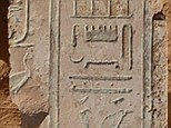 Professor Kaper says that disappearance of a Persian army in 524 BC has been solved, thanks to deciphering ancient temple blocks (pictured)