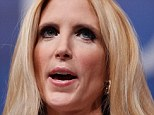 No soccer fan: Conservative pundit Ann Coulter wrote 'any growing interest in soccer can only be a sign of the nation's moral decay'