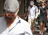 Toni Garrn takes Leonardo DiCaprio's mind off suicide of Katie Cleary's husband as they go hand-in-hand after a lunch date