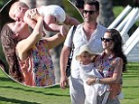 Aloha! Actress Tammin Sursok and director husband Sean McEwen take their adorable eight-month-old baby girl Phoenix to Hawaii