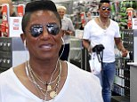 Pimping his Dancing Machine! It's as easy as 1, 2, 3 for Jermaine Jackson as he buys earphones for his smartphone