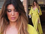 Brittny Gastineau's eye is still bruised as she is seen for first time since reaching settlement with accused attacker Marquis Lewis
