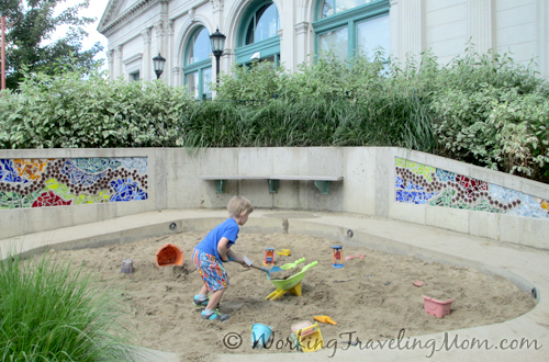 sandbox Children's Museum of Pittsburgh