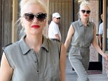 It's a jungle out there! Gwen Stefani goes safari chic to explore the not-so-mean streets of Los Angeles