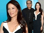 Movie director: Lucy Liu attended the premiere of the short film Meena she directed in New York City