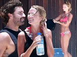 'I love this woman!' Brody Jenner hits the beach with his bikini-clad belle Kaitlynn Carter in Cabo San Lucas