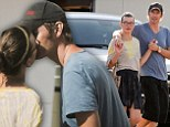 Milla Jovovich and husband Paul W. S. Anderson share a kiss in Malibu as it's revealed he's now writing the final Resident Evil film