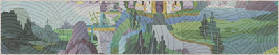 Водопад около главных ворот