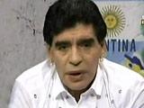 Maradona Slams Argentina Soccer Boss With 'Finger' Gesture, Says I am no Bad Omen