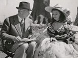 On set: Director Victor Fleming is seen with Vivien Leigh