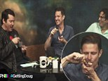 Comedian Wil Anderson smokes weed from a pipe on a YouTube clip with 24k views... but says it's for 'medicinal purposes'