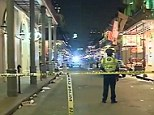 Police spokesman Frank Robertson says in a statement that the incident happened about 2:45am Sunday in the 700 block of Bourbon Street