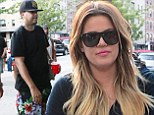 Khloe Kardashian spends a relaxed 30th birthday in tracksuit with French Montana by her side after wild party the night before