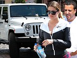 Khlo� Kardashian takes brand new $50,000 Jeep for a spin to the Hamptons as she's separated from boyfriend French Montana following birthday extravaganza
