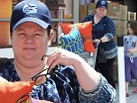 Mommy daughter day: Melissa McCarthy took her daughter Vivian shopping at Cost Plus World Market in Sherman Oaks, California on Saturday