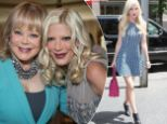 Candy and Tori Spelling