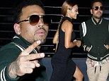 Chris Brown parties the night away at Hollywood club with girlfriend Karrueche Tran after rejecting plea deal in assault case
