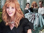 It's a tough job, but someone's got to do it! Lisa Kudrow gets carried around in ballgown on set of The Comeback