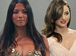 Not just a pretty face! From Jessica Gomes to Miranda Kerr - Australian models are in demand from Hollywood directors