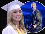 Eminem's daughter Hailie Mathers graduates school with highest honours, as she thanks parents for their support