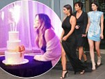 Kim, Kris, Kendall and all the family are out in force to celebrate Khloe's 30th birthday... as French Montana buys her a Jeep