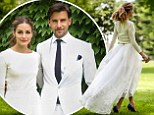 Just married! Olivia Palermo makes a beautiful bride as she weds Johannes Huebl in intimate civil ceremony