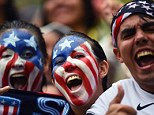 World Cup fever: USA fans in Recife show their support for their team