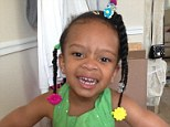 Wynter Larkin was tragically killed when a metal security gate detached from the facade of an Italian ice shop in Philadelphia on Saturday afternoon and fell on top of her