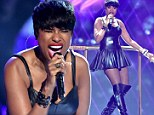 She's a dream girl! Jennifer Hudson turns heads at BET Awards with sexy leather dress and kinky heel boots