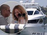 How the other half lives! Jay Z and Beyoncé take to the high seas with daughter Blue Ivy aboard luxurious 90ft mega-yacht in Miami