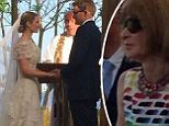 Anna Wintour hosted the nuptials of her son, Charlie Shaffer, at her Long Island home this weekend and the guest list was predictably fabulous. The fashion industry elite turned out to see Mr Shaffer, 28, and fashion exec Elizabeth Cordry, 27, tie the knot in Mastic, New York, Saturday. Stylish attendees included Prabal Gurung, Mario Testino and Oscar de la Renta.