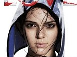 All American: Kendall Jenner's cover shoot for bi-annual fashion bible LOVE magazine was shot by David Sims