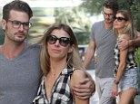 Laura Csortan, 37, cuddles up to her 27-year-old toyboy beau in LA