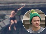 Harry Styles jumps into Lake Como