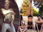 Wiggle it! Zac Efron shows off his sexy dancing while vacationing with Michelle Rodriguez... who just cannot help but do yoga in her bikini