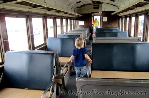 Train-Coach at Southern Michigan Railroad Tecumseh