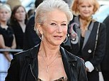 'I can¿t handle going to the hairdresser every six weeks': Helen Mirren confesses she often trims her own locks¿ even before red carpet events